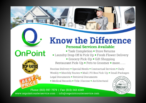 ONPOINT PRINT AD Marketing collateral  Draft # 1 by Kaiza