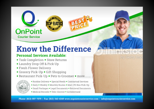 ONPOINT PRINT AD Marketing collateral  Draft # 3 by Kaiza