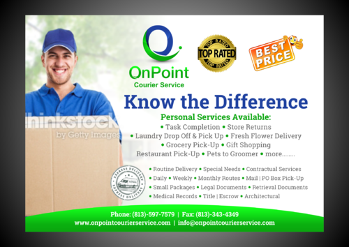 ONPOINT PRINT AD Marketing collateral  Draft # 4 by Kaiza