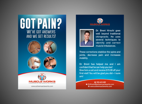 Muscle Works Marketing collateral  Draft # 35 by Kaiza