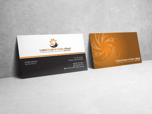 United Fund Business Cards and Stationery  Draft # 28 by sevensky