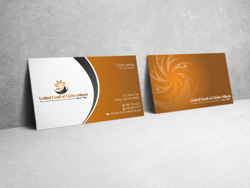 United Fund Business Cards and Stationery  Draft # 41 by sevensky