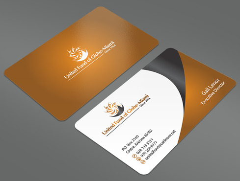 United Fund Business Cards and Stationery  Draft # 82 by ArtworksKingdom