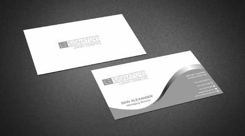 Modern, Luxurious Business Cards and Stationery  Draft # 93 by Dawson