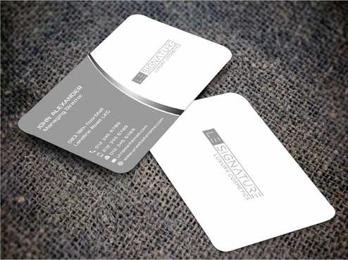 Modern, Luxurious Business Cards and Stationery  Draft # 95 by Dawson