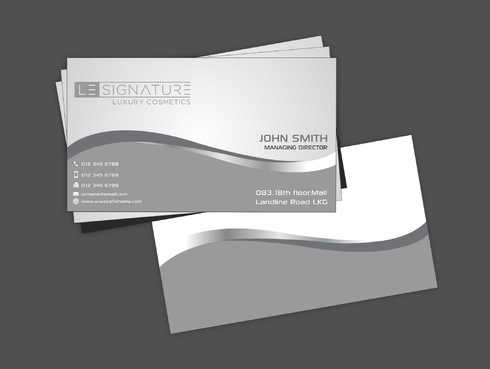 Modern, Luxurious Business Cards and Stationery  Draft # 97 by Dawson