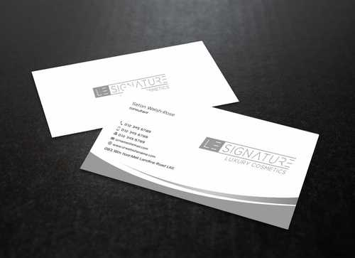 Modern, Luxurious Business Cards and Stationery  Draft # 100 by Dawson