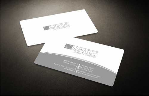 Modern, Luxurious Business Cards and Stationery  Draft # 101 by Dawson