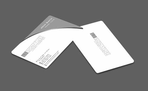Modern, Luxurious Business Cards and Stationery  Draft # 103 by Dawson