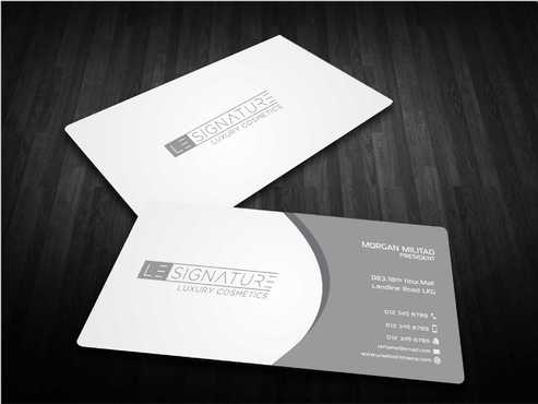 Modern, Luxurious Business Cards and Stationery  Draft # 110 by Dawson