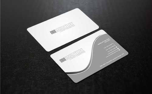 Modern, Luxurious Business Cards and Stationery  Draft # 111 by Dawson