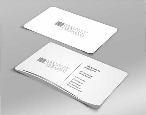 Modern, Luxurious Business Cards and Stationery  Draft # 114 by Dawson