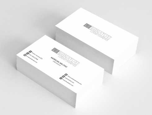 Modern, Luxurious Business Cards and Stationery  Draft # 115 by Dawson