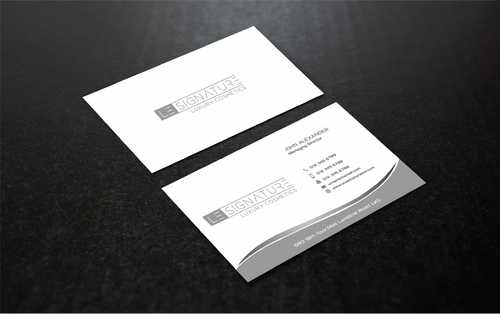Modern, Luxurious Business Cards and Stationery  Draft # 116 by Dawson
