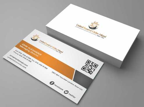 United Fund Business Cards and Stationery  Draft # 230 by Dawson