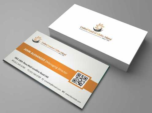 United Fund Business Cards and Stationery  Draft # 231 by Dawson