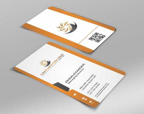 United Fund Business Cards and Stationery  Draft # 233 by Dawson