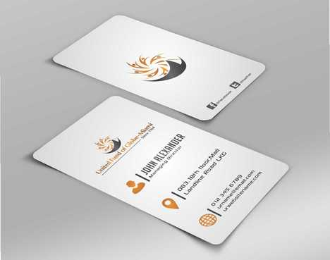 United Fund Business Cards and Stationery  Draft # 234 by Dawson