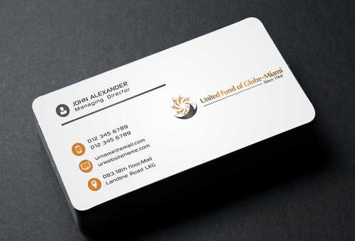 United Fund Business Cards and Stationery  Draft # 236 by Dawson