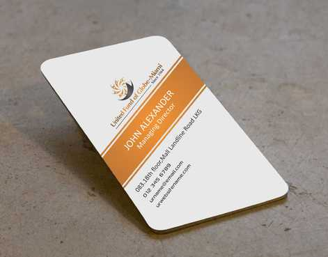 United Fund Business Cards and Stationery  Draft # 237 by Dawson