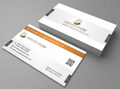 United Fund Business Cards and Stationery  Draft # 238 by Dawson