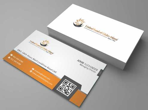 United Fund Business Cards and Stationery  Draft # 247 by Dawson