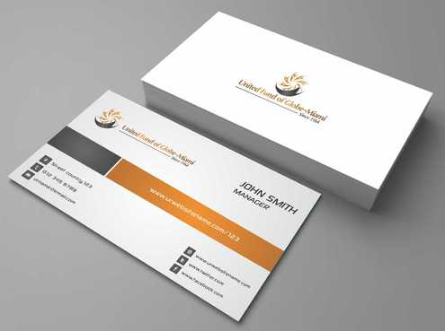 United Fund Business Cards and Stationery  Draft # 251 by Dawson