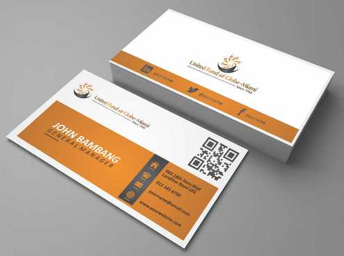 United Fund Business Cards and Stationery  Draft # 252 by Dawson