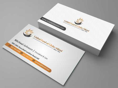 United Fund Business Cards and Stationery  Draft # 257 by Dawson