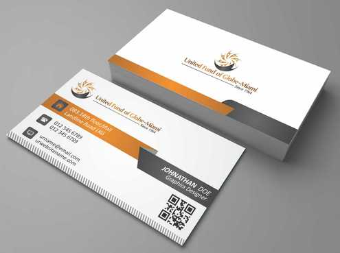 United Fund Business Cards and Stationery  Draft # 258 by Dawson