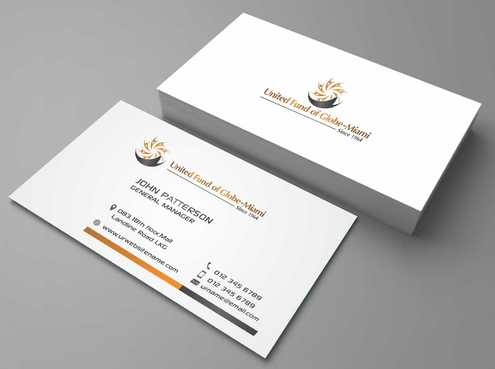 United Fund Business Cards and Stationery  Draft # 259 by Dawson