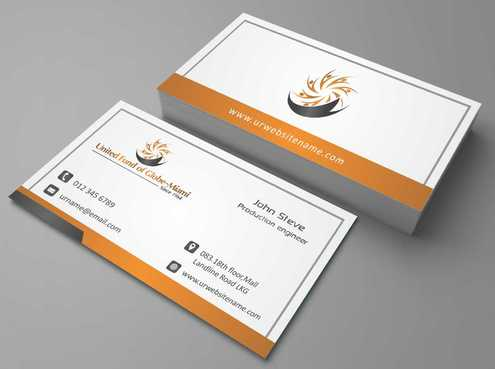 United Fund Business Cards and Stationery  Draft # 260 by Dawson