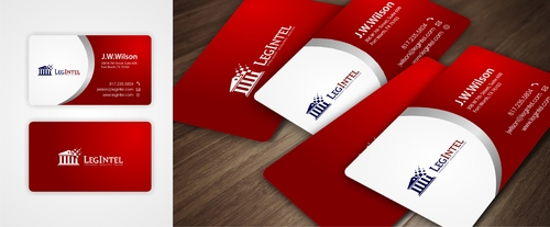 Legintel Business Cards and Stationery  Draft # 263 by ElCoco
