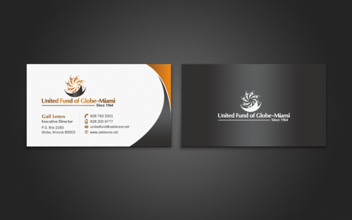 United Fund Business Cards and Stationery  Draft # 280 by einsanimation