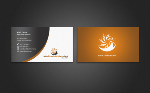 United Fund Business Cards and Stationery  Draft # 279 by einsanimation