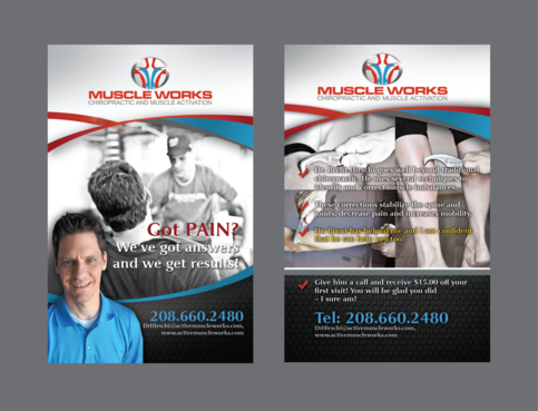Muscle Works Marketing collateral  Draft # 72 by inovatedesign