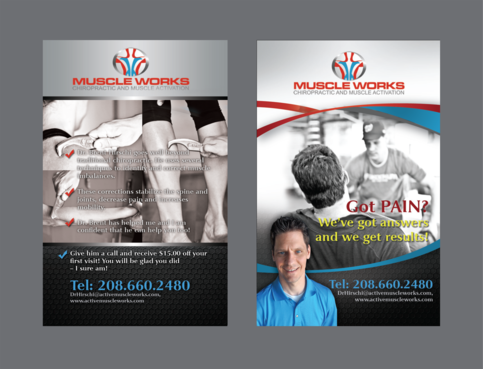 Muscle Works Marketing collateral  Draft # 75 by inovatedesign