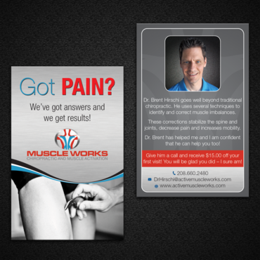 Muscle Works Marketing collateral  Draft # 82 by monski