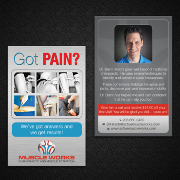 Muscle Works Marketing collateral  Draft # 90 by monski