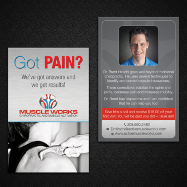Muscle Works Marketing collateral  Draft # 91 by monski