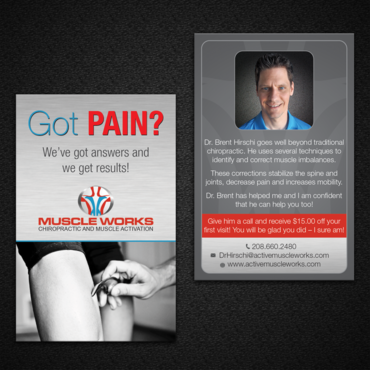 Muscle Works Marketing collateral  Draft # 92 by monski