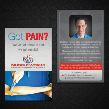 Muscle Works Marketing collateral  Draft # 94 by monski