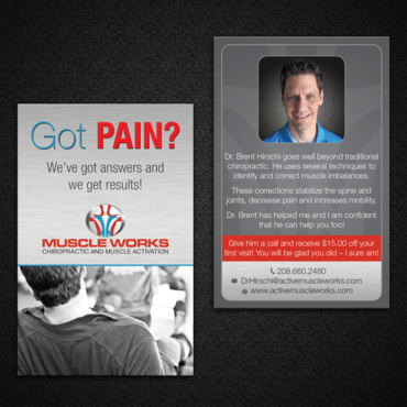 Muscle Works Marketing collateral  Draft # 96 by monski