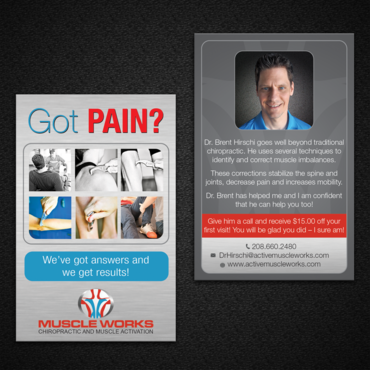 Muscle Works Marketing collateral  Draft # 99 by monski
