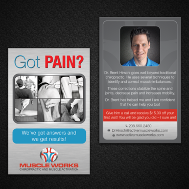 Muscle Works Marketing collateral  Draft # 100 by monski
