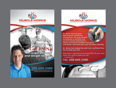 Muscle Works Marketing collateral  Draft # 104 by inovatedesign