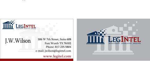Legintel Business Cards and Stationery  Draft # 277 by ruxanda