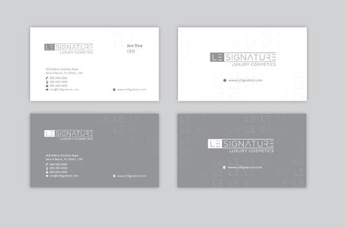 Modern, Luxurious Business Cards and Stationery  Draft # 122 by Achiver