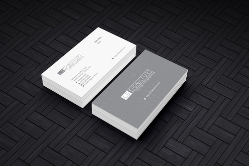 Modern, Luxurious Business Cards and Stationery  Draft # 123 by Achiver