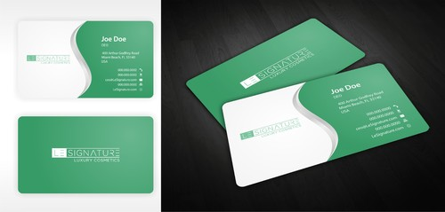 Modern, Luxurious Business Cards and Stationery  Draft # 124 by ElCoco